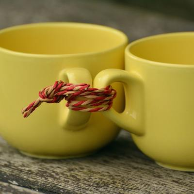 Beverage Ceramic Cord Cups 207950