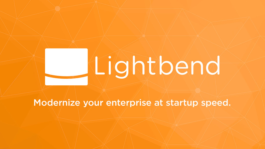 Lightbend Logo Orange Twitter